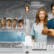 Grey's Anatomy: season 1 (Italian Covers) - Front DVD Covers