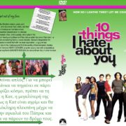 10 THINGS I HATE ABOUT YOU (1999) R2 Custom – Greek Front Cover