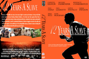 12 Years A Slave final dvd cover