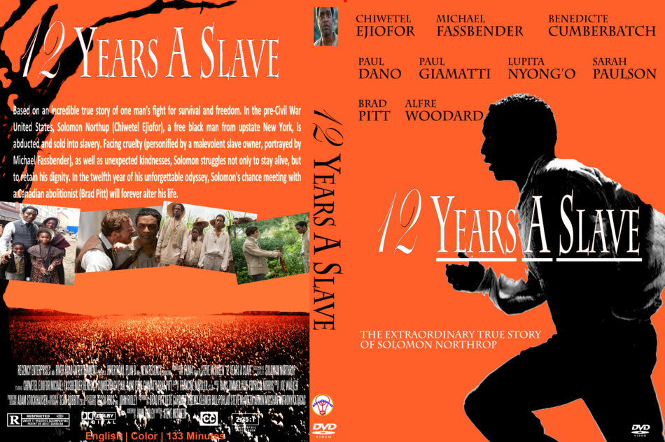 12 Years A Slave 2013 R0 Custom Dvd Cover