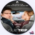 The Guilt Trip (2012) R0 Custom DVD Label