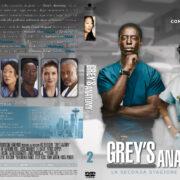 Grey's Anatomy: Season 2 (Italian) – Front DVD Covers