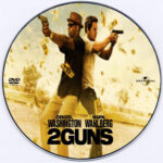2 Guns (2013) Custom CD Cover