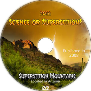 2012 science or superstition dvd label