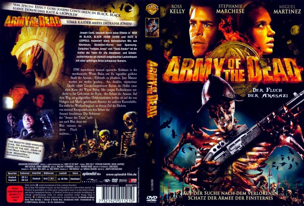 Army of the Dead: Der Fluch der Anasazi (2008) R2 German