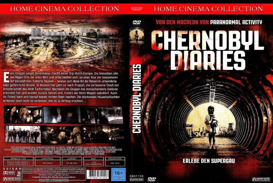 Chernobyl Diaries dvd cover (2012) R2 German