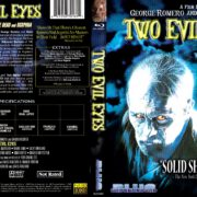Two Evil Eyes (1990) Blu-Ray Cover & Label