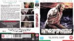 Anthropophagous (1980) Blu-Ray UK Cover+Label