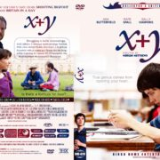 X+Y (2015) R0 Custom DVD Cover