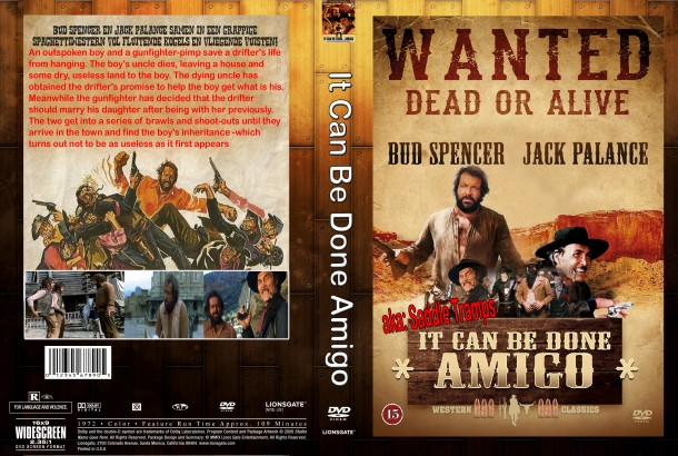 It Can Be Done Amigo (1972) R1 Custom DVD Cover