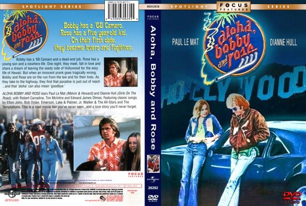 Aloha, Bobby and Rose (1975) R1 Custom DVD Cover