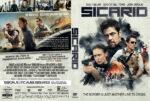 Sicario (2015) R1 Custom DVD cover