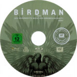 Birdman (2015) R2 Blu-Ray Label