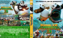 Kung Fu Panda 3 (2016) R0 Custom DVD Cover