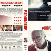 Remember (2015) R1 Custom DVD Cover