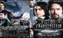 Victor Frankenstein (2015) R1 Custom DVD Cover