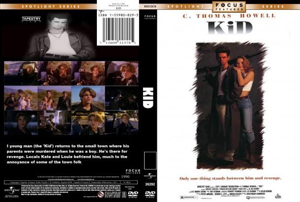 Kid (1990) R1 Custom DVD Cover