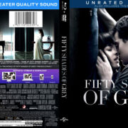 Fifty Shades Of Grey (2015) Blu-Ray Cover