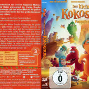 Der kleine Drache Kokosnuss 3D-2D (2015) Blu-Ray German