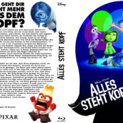Alles steht Kopf (2015) Blu-Ray German Custom Covers
