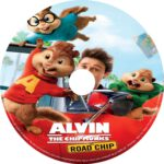 Alvin and the Chipmunks: The Road Chip (2015) R0 CUSTOM Labels