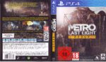 Metro Last Night Redux (2013) PS4 PAL German