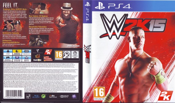 W2K15 (2014) PS4 PAL German