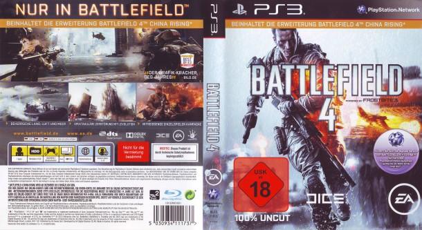Battlefied 4 (2013) PS3 PAL German