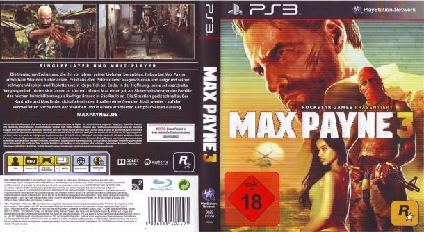 Max Payne 3 (2012) PS3 PAL German