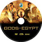 Gods of Egypt (2016) R0 CUSTOM labels