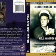 Hell And High Water (1954) R1 Custom DVD Cover