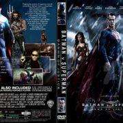 Batman v Superman: Dawn of Justice (2016) R1 CUSTOM DVD Cover