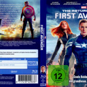 Captain America 2 – The Return of the First Avenger (2014) Blu-Ray German