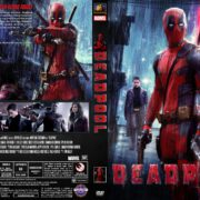 Deadpool (2016) R1 DVD Cover Custom
