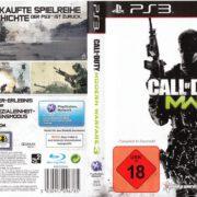 Call of Duty Modern Warfare 3 (2011) PS3 PAL German