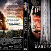 Warcraft (2016) R1 CUSTOM DVD Cover