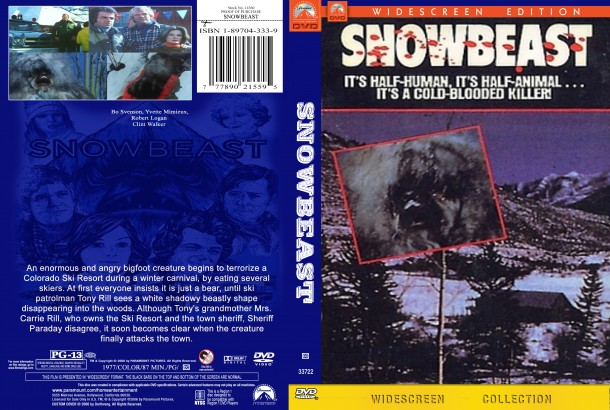 Snowbeast (1977) R1 Custom DVD Cover