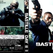 Bastille Day (2016) R2 CUSTOM DVD Cover