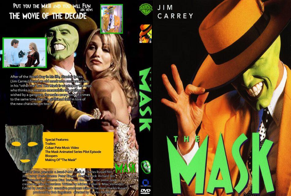 The Mask Dvd Cover 1994 R0 Custom