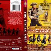 The Savage Guns (1962) R1 Custom DVD Cover