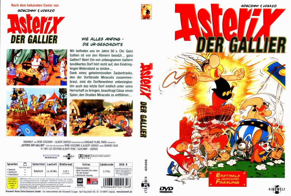 Asterix der Gallier dvd cover (1967) R2 German