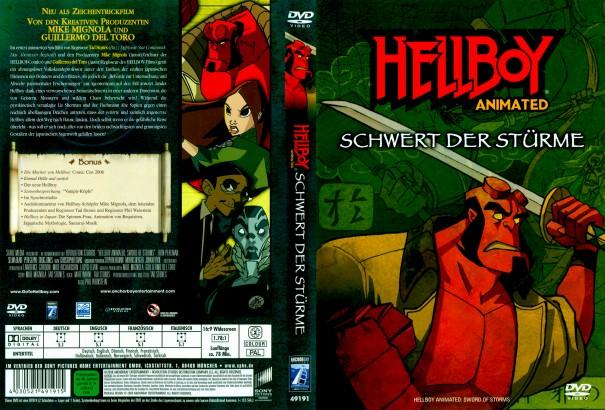 Hellboy Animated: Schwert der Stürme (2006) R2 German