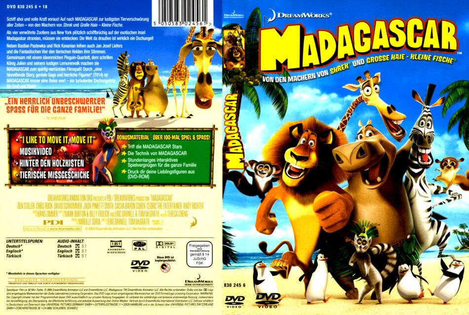 madagascar 1 deutsch