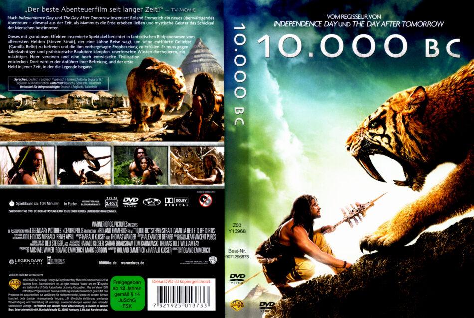 10 000 Bc Dvd Covers 2008 R2 German