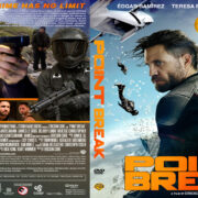 Point Break (2015) R1 Custom DL DVD Cover