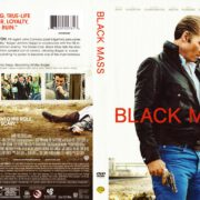 Black Mass (2015) R1 DVD Cover