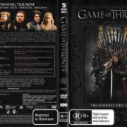 Game Of Thrones: Season 1 (2012) R4 DVD Cover