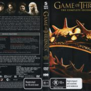 Game Of Thrones: Season 2 (2013) R4 DVD Cover