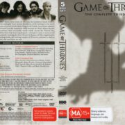 Game Of Thrones: Season 3 (2014) R4 DVD Cover