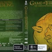 Game Of Thrones: Season 4 (2015) R4 DVD Cover